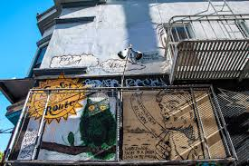 Clarion Alley Mural Project by Mission District Street Art In San Francisco Backpack Me