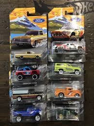 100 Hot Wheels Truck Ford 8 Car Set 2018 Now Then Forever Collectibles