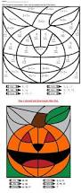 Halloween Multiplication Worksheets Coloring by Check Out This Addition Halloween Mystery Picture Activity Math