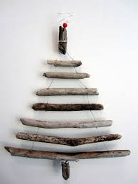 Driftwood Christmas Trees Cornwall by Driftwood Christmas Tree Wall Hanging By Thewildgrape On Etsy