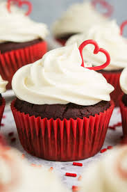 The ULTIMATE Healthy Red Velvet Cupcakes Topped With Cream Cheese Frosting