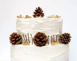 Rustic Cake Toppers Wedding Pine Cone Topper Ebay