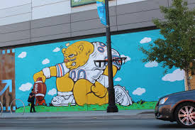 Big Ang Mural Chicago by Jc Rivera U0027s Bear Mural Completed At Newcity Old Town Chicago