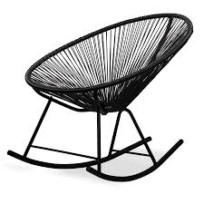 Rocking Chair Acapulco | Black