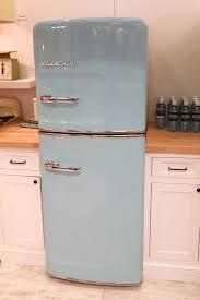 Kitchens NEW Slim Size Retro Fridge Big Vintage Style For Smaller