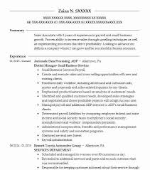District Manager Small Business Services