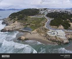 100 The Cliffhouse Aerial View Sutro Bath Image Photo Free Trial Bigstock
