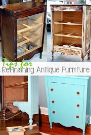 Tips for Refinishing Antique Furniture