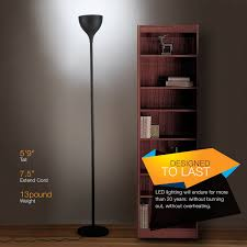 Bright Floor Lamp Led by Brightech Store Sky Elite Led Torchiere Floor Lamp U2013 Dimmable