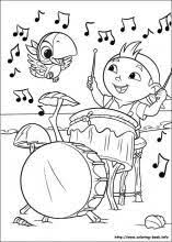 Jake And The Never Land Pirates Coloring Pages On Book