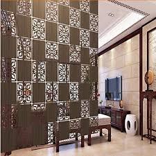 entranceway kompartimentierung hängen holz geschnitzt ausschnitt carving raumteiler trennwand biombo raumteiler trennwände