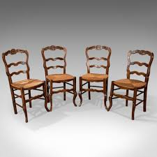 Set Of 4 Antique Dining Chairs In Dark Beech, French Country Kitchen Circa  1900 Refinished Painted Vintage 1960s Thomasville Ding Table Antique Set Of 6 Chairs French Country Kitchen Oak Of Six C Home Styles Countryside Rubbed White Chair The Awesome And Also Interesting Antique French Provincial Fniture Attractive For Eight Cane Back Ding Set Joeabrahamco Breathtaking