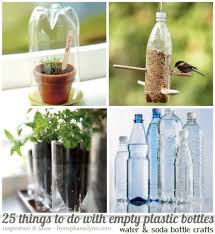 25 Things To Do With Empty Plastic Bottles Water & Soda Bottle