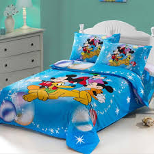 Mickey Mouse Queen Size Bedding by Bedding For Kids Students Cute Cartoon Kids Bedding Set Mickey