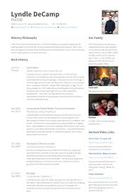 Young Adults Pastor Media Tech Administrative Resume Example