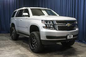 Used Lifted 2015 Chevrolet Tahoe LT 4x4 SUV For Sale