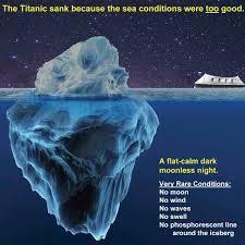 Sinking Ship Simulator The Rms Titanic by Experts Dispute Titanic Iceberg Theory Titanic Pinterest