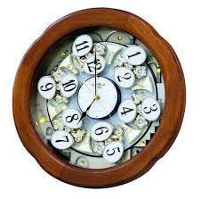 Rhythm Small World 4MH825 CTS Angel Blossom Clarion Tone System Magic Motion Clock