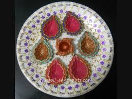 Varalakshmi Vratham Decoration Ideas In Tamil by Plate Art Decoration Ideas Thermocol Paper Plate Kolam By