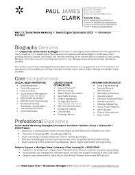 Social Media Resume Sample Example Cv Officer