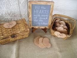 Rustic Hearts Unique Wedding Guestbook Ideas