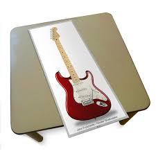 Placa Decorativa Da Guitarra Do John Frusciante