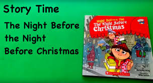 Twas The Night Before Halloween Book by Story Time Night Before The Night Before Christmas Youtube