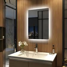 details zu badspiegel mit beleuchtung emke badezimmer spiegel led lichtspiegel 50x70 cm