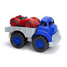 100 Truck Flatbed W Race Car