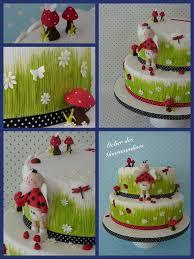 deco coccinelle pour bapteme gâteau baptême en coccinelles pour esteban atelier des gourmandises
