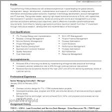 Project Finance Resume It Manager Sample Harmonious Special Government Change