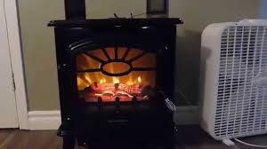 Decor Flame Infrared Electric Stove Manual by Decorflame Electric Stove Heater Model Qc212 Gbkp Youtube