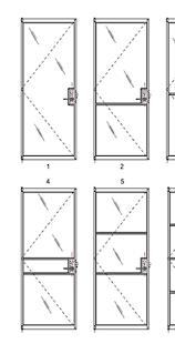 Pivot Door Hardware Modern Hardware Aluminum Doors