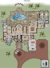 One Level House Floor Plans Colors Florida Mediterranean House Plan 71539 Level One House