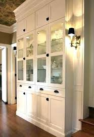 Dining Room Cabinet For Storage Built In From Billy Cabinets Add Side Panels W Cupboards Designs