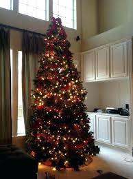 12 Foot Pre Lit Christmas Tree Ft Storage Box