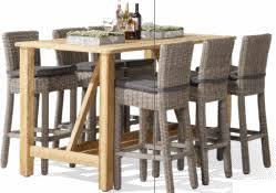 table de cuisine haute avec tabouret mignon table haute avec tabouret ensemble de bar et 2 tabourets