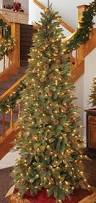 Slim Pre Lit Christmas Trees by 104 Best Christmas Trees Images On Pinterest Christmas