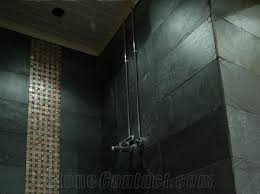 himalayan black slate wall and floor tiles from finland