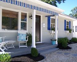 Beach House Exterior Progress – Home Spun Style Patio Ideas Tropical Fniture Clearance Garden Chair Sofa Interesting Chaise Lounge Cushions For Better Daybeds Jcpenney Daybed Covers Mattress Cover Matelasse Denim Exterior And Walmart Articles With Pottery Barn Outdoor Tag Longue Smerizing Pottery Pb Classic Stripe Inoutdoor Cushion Au Lisbon Print Luxury Photos Of Pillow Design Fniture Reviews