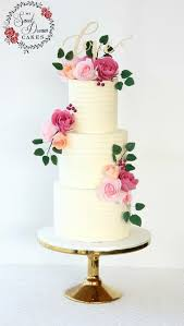 3 Tier Buttercream Beauty With Sugar Flowers By My Sweet Dream Cakes Perth