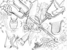 Percy Jackson Birthday Cards