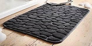 badematte badeteppich 50 x 80 anthrazit grau