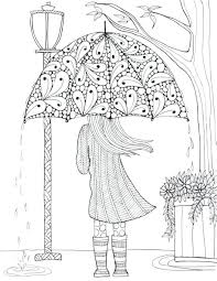 Free Printable Christmas Coloring Pages For Adults Only Disney Frozen Prettiest Umbrella