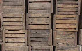 Box Crate Cargo Prop Wooden Stack