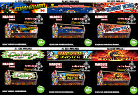 Mortal Kombat Arcade Cabinet Ebay by Arcade Marquee Stickers Graphic Laminated All Sizes Designs