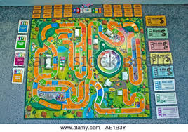 The Game Of Life By Milton Bradley Board All Its