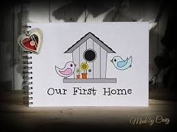 Image Is Loading Scrapbook A4 First Home New House Warming