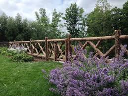 Rustic Garden Fencing Gates