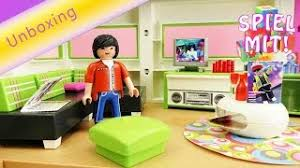 playmobil wohnzimmer city 5584 unboxing